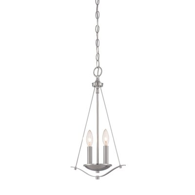 Naugatuck Light Mini Pendant Finish: Satin Platinum