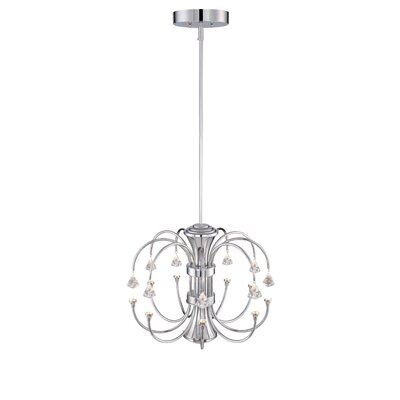 Galaxy 9-Light Crystal Chandelier