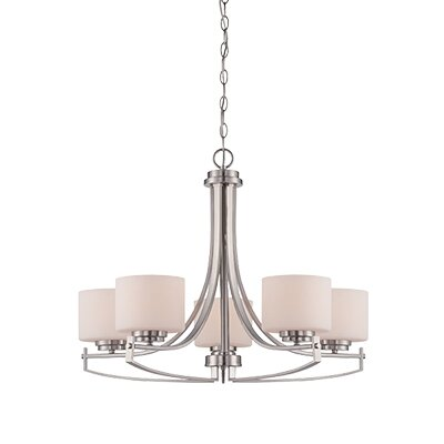 Axel 5-Light Shaded Chandelier