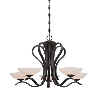 Galena 5-Light Shaded Chandelier