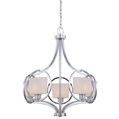 Mirage 5-Light Shaded Chandelier