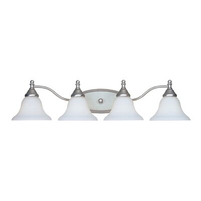 Savon 4-Light Vanity Light Finish: Pewter