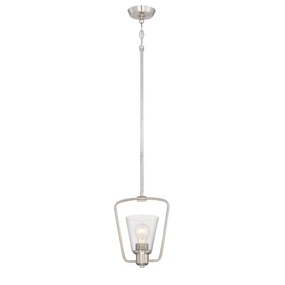 Selinsgrove 1-Light Mini Pendant Finish: Satin Platinum