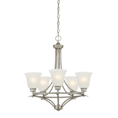 Amee 5-Light Shaded Chandelier