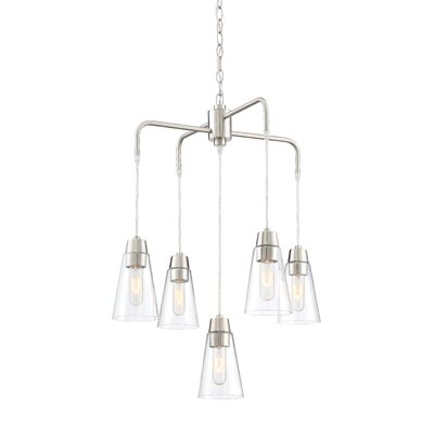 Irina 5-Light Shaded Chandelier