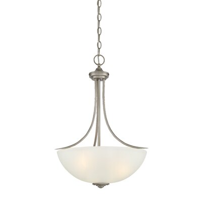 Amee Modern 3-Light Inverted Pendant