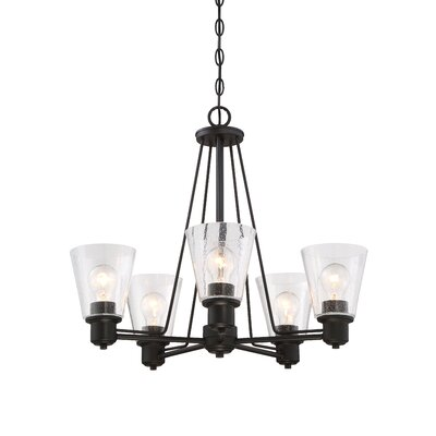 Selinsgrove 5-Light Shaded Chandelier Finish: Oil Rubbed Bronze