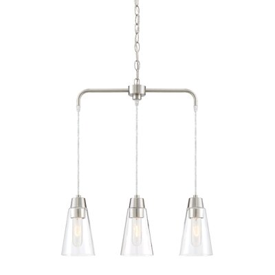 Echo 3-Light Kitchen Island Pendant