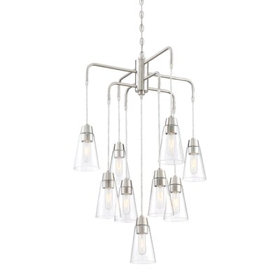 Echo 9-Light Shaded Chandelier