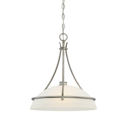 Amee Modern 1-Light Bowl Pendant