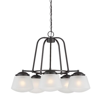 Mason 5-Light Shaded Chandelier