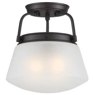 Mason 2-Light Semi-Flush Mount