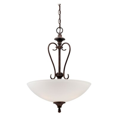 Helena 3-Light Inverted Pendant