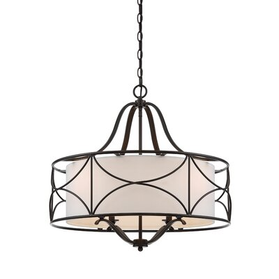 Avara 4-Light Drum Chandelier