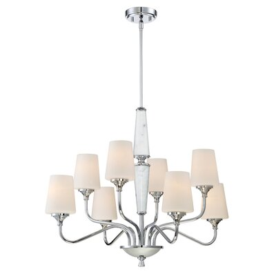 Lusso 8-Light Shaded Chandelier