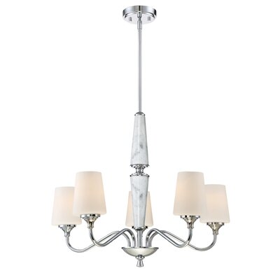 Lusso 5-Light Shaded Chandelier