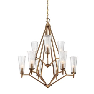 Montelena 9-Light Candle-Style Chandelier
