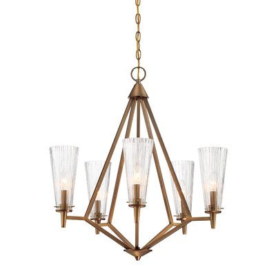 Montelena 5-Light Candle-Style Chandelier