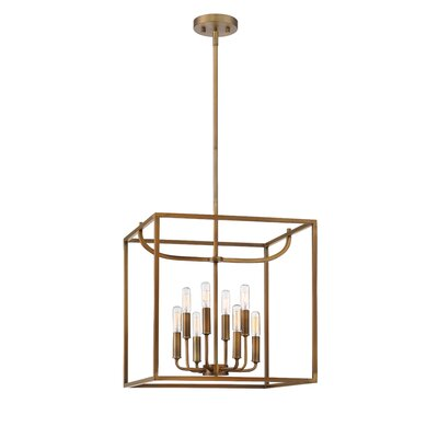 Uptown 8-Light Foyer Pendant Finish: Oil Rubbed Bronze