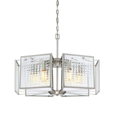 Pivot 6-Light Shaded Chandelier