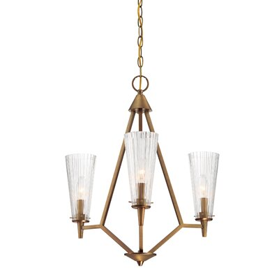 Montelena 3-Light Candle-Style Chandelier