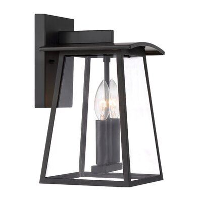 Calderwood 1-Light Outdoor Wall Lantern Size: 15.25 H x 9.24 W x 10 D