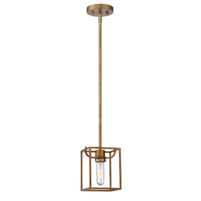 Uptown 1-Light Mini Pendant Finish: Oil Rubbed Bronze