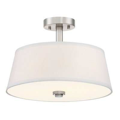 Studio 2-Light Semi-Flush Mount