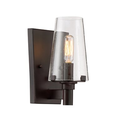 Hyde Park 1-Light Wall Sconce Finish: Vintage Bronze