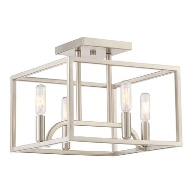 Uptown 4-Light Semi Flush Mount