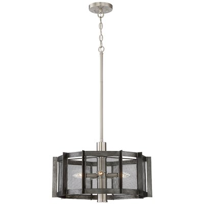Baxter 5-Light Drum Chandelier