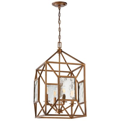 Athina 4-Light Foyer Pendant