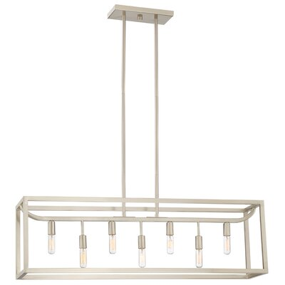 Uptown 7-Light Kitchen Island Pendant