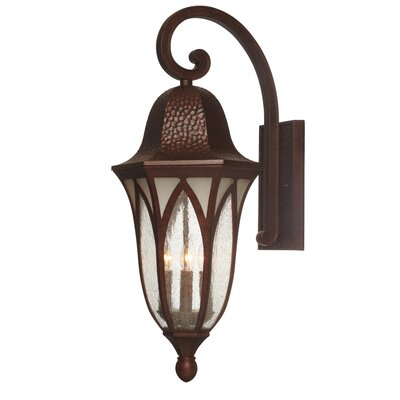 Berkshire Outdoor Wall Lantern Size: 27.5 H x 11 W