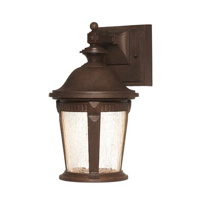 Whitmore 1-Light Outdoor Wall Lantern Size: 12.25 x 7 x 8