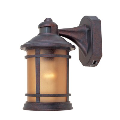Hanover 1-Light Outdoor Wall Lantern Finish: Mediterranean Patina