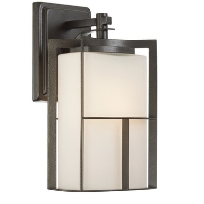 Braxton 1-Light Outdoor Wall Lantern Size: 13 x 7