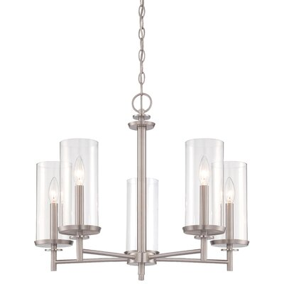 Harlowe 5-Light Candle-Style Chandelier