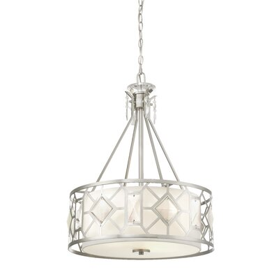 Brentwood 3-Light Drum Pendant