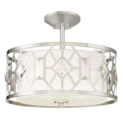 Brentwood 2-Light Semi Flush Mount