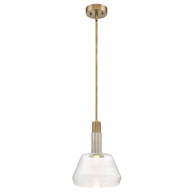 Karah 1-Light LED Mini Pendant Size: 13 H x 8.5 W x 8.5 D