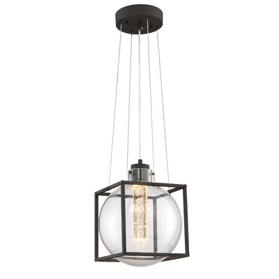 Aloft 1-Light LED Foyer Pendant Size: 12.75 H x 10.75 W x 10.75 D