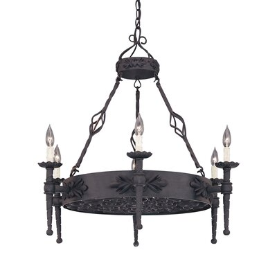 Alhambra 6-Light Candle-Style Chandelier
