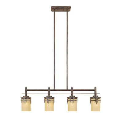 Mission Ridge 4-Light Kitchen Island Pendant