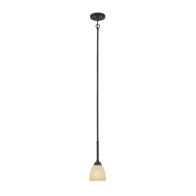Stan 1-Light Mini Pendant Finish: Burnished Bronze