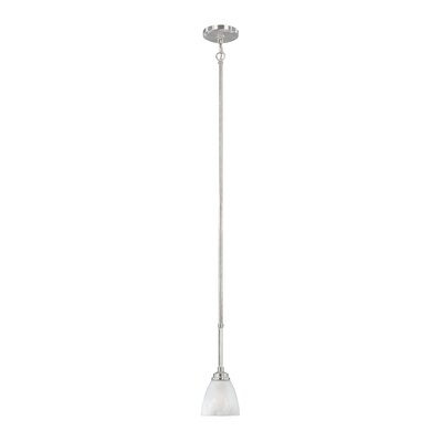 Stan 1-Light Mini Pendant Finish: Satin Platinum