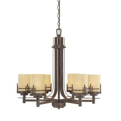Mission Ridge 6-Light Shaded Chandelier