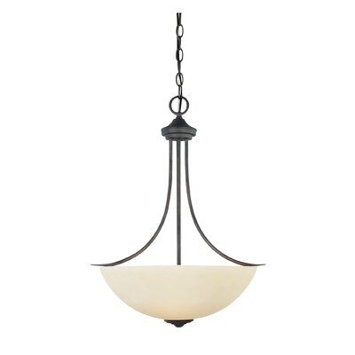 Montego 3-Light Inverted Pendant