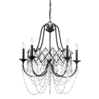 Ravina 5-Light Candle-Style Chandelier