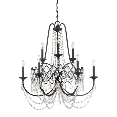 Ravina 9-Light Candle-Style Chandelier